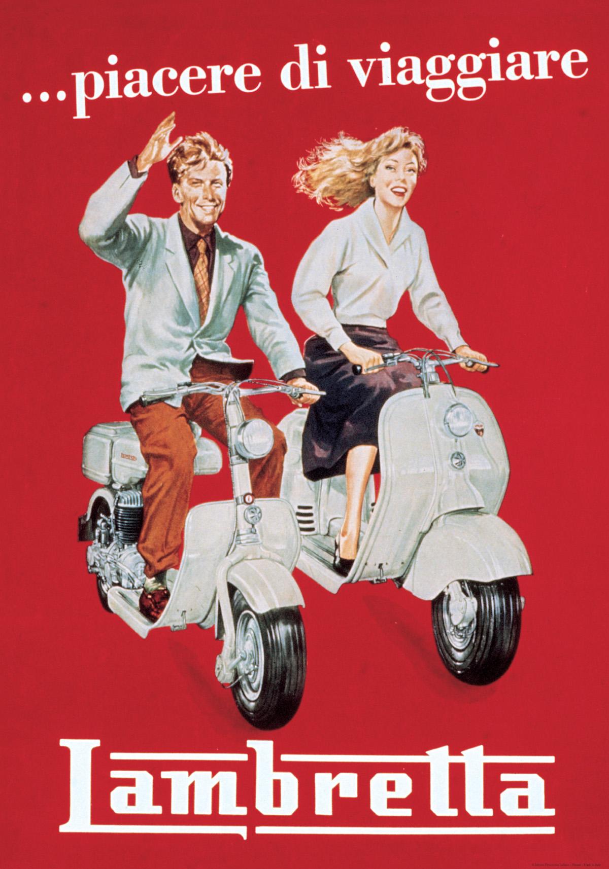 Vintage Art :: Vintage Art Paper/Posters :: Lambretta - Vintage ...