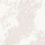 Vines & Dots Beige Wrapping Paper