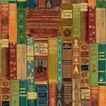 Classic Books Wrapping Paper
