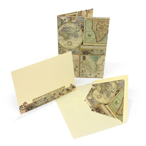 Maps Card Portfolio Large