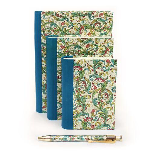 Signoria Notebooks in 3 sizes