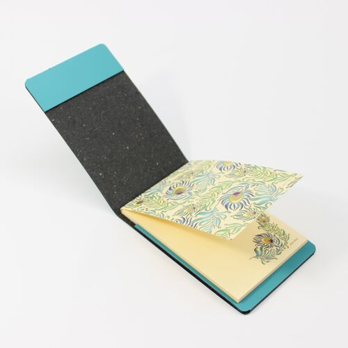 Peacock Memo Pad Holder