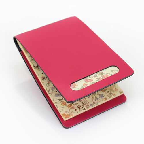 Primavera Memo Holder in Pink