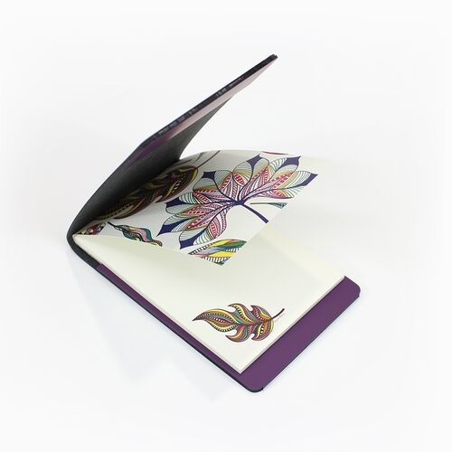 Variopinta memo pad with Purple Memo Holder