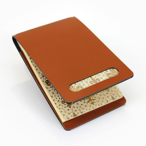 Lilium Memo Holder in Cognac