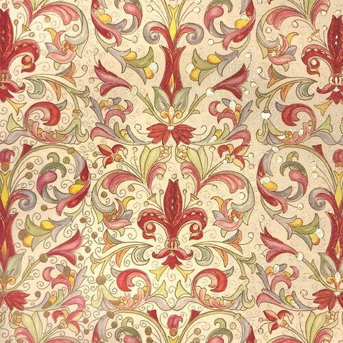 Giglio paper pattern