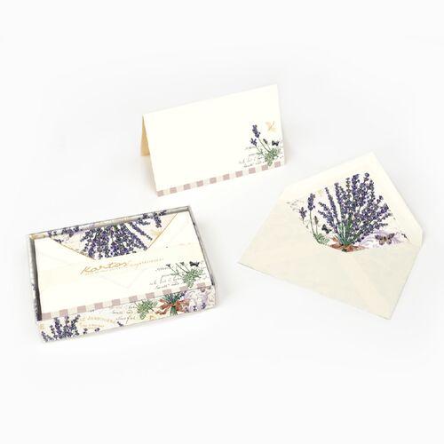 Lavanda Fold-over Card Box Set Medium