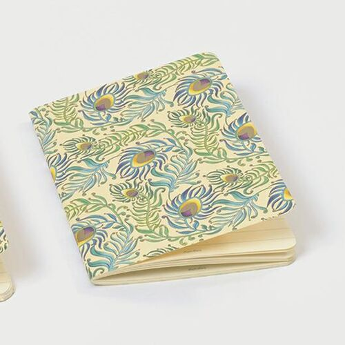 Peacock Softcover Journal A6 - Ruled